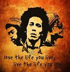 Wall Decor Decal Sticker Removable Music Musician Singer Quote Bob Marley DC0103