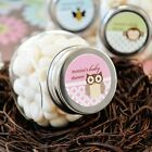 24 Candy Jar Baby Shower Favor Box FREE Personalized Label
