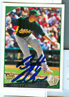 Oakland A's BRETT ANDERSON Signed Card RC