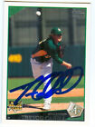 Oakland A's TREVOR CAHILL Signed Card RC