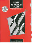 LEARN AS YOU PLAY Flute Book - Peter Wastall *NEW* Sheet Music Tutorial