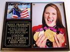 Missy Franklin 4 Gold Medals Women's Swimming London 2012 Olympic Photo Plaque