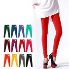 Candy Womens daily cotton tight Pants Yoga Stretch legging sport pencil pants