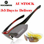 Rockbros Black Red Polarized Sunglasses Goggles Cycling Glasses ,Sports Glasses