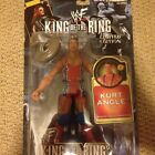 WWE WWF ECW TNA JAKKS KING OF THE RING KURT ANGLE WRESTLING ACTION FIGURE