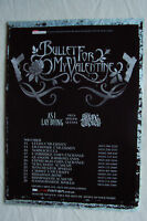 BULLET FOR MY VALENTINE - UK Tour Dates - 2006 Magazine Advertisment Poster