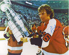 BOB CLARKE PHILADELPHIA FLYERS AUTOGRAPHED 8X10 PHOTO WITH THE STANLEY CUP #2
