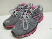 New Balance 890 Jennifer Barringer RevLite Gray Pink Running Shoes Womens 6