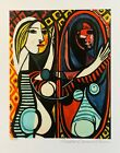 Pablo Picasso GIRL BEFORE A MIRROR Estate Signed & Numbered Small Giclee