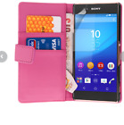 Pink Samsung Galaxy S2 i9100 Slim Wallet Credit Card Flip Leather Pouch Case