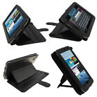 Black Leather Case for Samsung Galaxy Tab 2 7.0 P3100 P3110 Wifi 3G Cover Holder