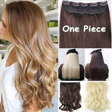 Long Straight/Curly/Wavy Hair Extension Clip in Hair Extensions 5 Clip Real Sexy