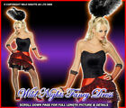 *** SALE *** FANCY DRESS COSTUME # WILD WEST SALOON CAN CAN LADY SIZE 8-18