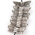 40pcs 112822 Hot New Wings&Column Vintage Silver Alloy Beads Charms Findings
