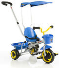 NEW IN BOX EuroTrike Euro Trike Ultima Canopy Tricycle - Blue