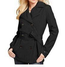 NWT Tommy Hilfiger Womens Soft-Shell Fleece-Lined Trench Coat,LARGE