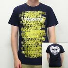 ALEXISONFIRE - Gold Spray on Navy (LIMITED!):T-shirt - NEW - SMALL ONLY