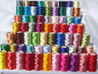 75 Spools of Embroidery Thread for Brother,Janome
