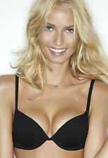 New Wonderbra Lingerie Lightweight Gel Push Up Bra 7925 Black VARIOUS SIZES