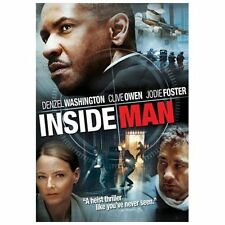 Inside Man (DVD, 2006, Anamorphic Widescreen) NEW SEAL