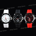 New Fashion Men Silicone Rubber Jelly Band Dial Sport Unisex Quartz Wrist Watch