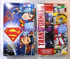 SET 5 PACK BRIEF UNDERWEAR BOYS SZ 4 6 8 DISNEY LEGO BATMAN SUPERMAN NEW