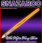 SNAZAROO FACE PAINT YELLOW MEDIUM FLAT BRUSH