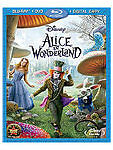 Alice In Wonderland (3d) (Bd/D (2010) - New - Blu-ray 3d