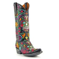 Old Gringo Ladies Klak Skull Boot L1300-1 New