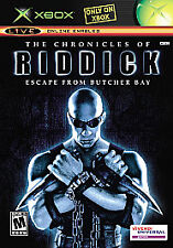 Chronicles of Riddick: Escape From Butcher Bay  (Xbox, 2004)
