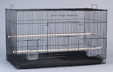 Parakeet Cockatiel Breeder Utility Metal Large Bird Cage 30 by 18 by 18 inch