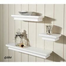 ROYCE lot de 3 tablettes flottantes mur