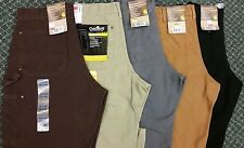 BRAND NEW Carhartt Double-Front Original Dungaree Fit WASHED Work Pants B136!