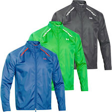 Under Armour 2015 Mens UA Golf Storm Full Zip Wind Jacket Water Resistant