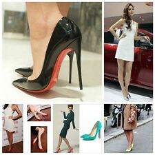 Fashion Sexy Womens High Heels Pointed Toe Shallow mouth Stilettos Shoes T324