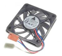 Delta DC brushless CPU cooling fan EFRB0612LA 12V 0.11A 3-wire 3-pin TESTED