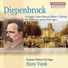 DIEPENBROCK: ORCHESTRAL WORKS & SYMPHONIC SONGS NEW CD