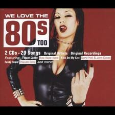 WE LOVE THE 80'S TOO NEW CD