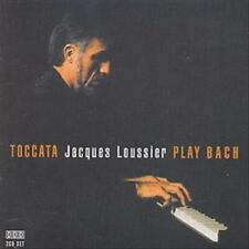 TOCCATA: JACQUES LOUSSIER PLAYS BACH NEW CD
