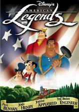 DISNEY'S AMERICAN LEGENDS NEW DVD