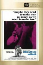 A WALK WITH LOVE AND DEATH NEW DVD