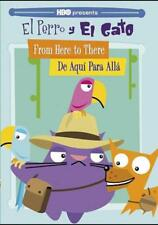 EL PERRO Y EL GATO: FROM HERE TO THERE/DE AQUI PARA ALLA NEW DVD