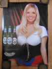 Sexy Girl Beer Poster St. Pauli ~ Brittany Evans 2006 Model