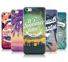 DYEFOR SUMMER LOGOS & BEACHES HARD BACK PHONE CASE COVER FOR APPLE iPHONE 5C