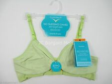 Barely There CustomFlex Fit Lightly Lined Wirefree Bra 4742 XS-XL Lime Aqua NWT