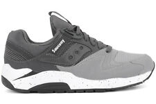 Saucony Grid 9000 S70077-39 New Mens Grey Charcoal Athletic Running Casual Shoes