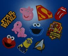 IRON ON SEW ON PATCH - LOADS OF DESIGNS - STOCK CLEARANCE NOT TO BE MISSED