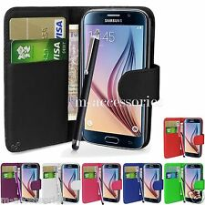 WALLET CASE POUCH PU LEATHER COVER FOR SAMSUNG GALAXY J1 SM-J100 MOBILE PHONE