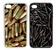 Bullets & Guns - Rubber and Plastic Phone Cover Case
