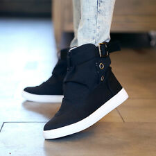 Womens Lace Up Fashion Canvas Sneakers Casual Sports Flat Walking Running Shoes
